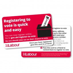 Voter Registration Card