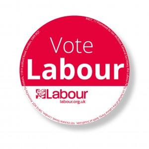 Vote Labour Stickers