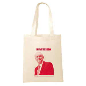 I'm with Corbyn Tote Bag