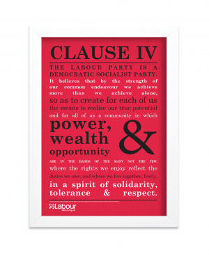 Clause IV Framed Print