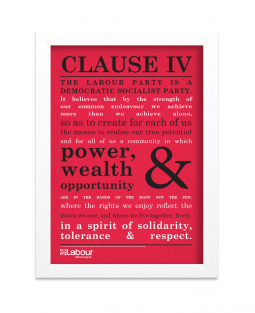 Image of Clause IV print with white frame