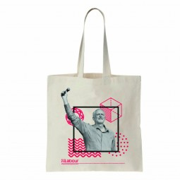 Image of Jeremy Corbyn tote bag