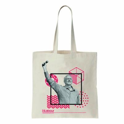 Image of Jeremy Corbyn tote bag