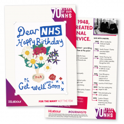 NHS at 70 Leaflet