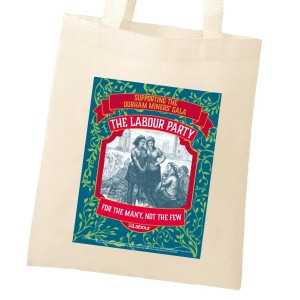 Durham Miners tote bag