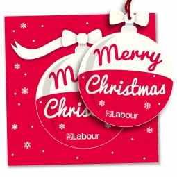 Image of pop-out christmas card