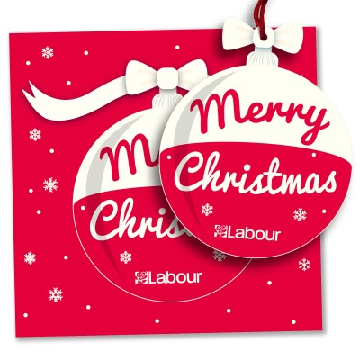 Pop-out Christmas Decoration Card (pack of 5)