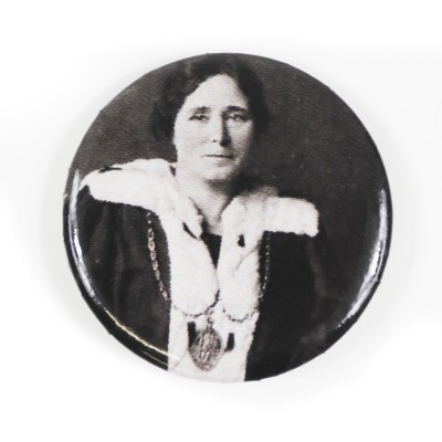Image of Mary Barbour pin badge