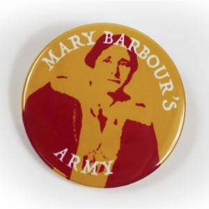 Mary Barbour Pin Badge (Colour)