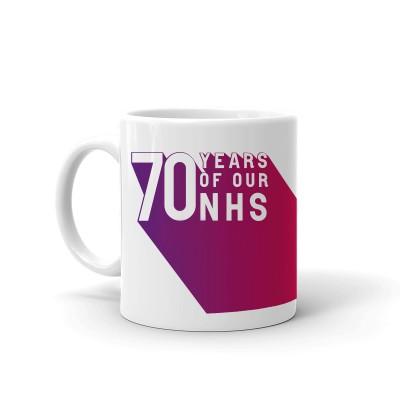 NHS at 70 Mug