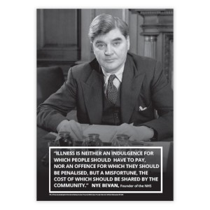 Nye Bevan A3 Poster