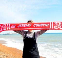 Image of Jeremy Corbyn scarf