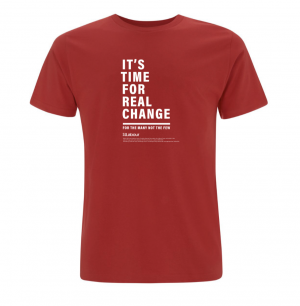 Real Change T-shirt