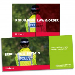 Image of Labour police leaflet