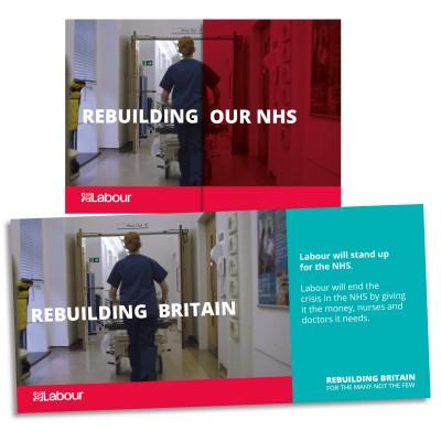 Image of Labour's NHS leaflet