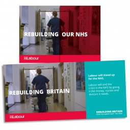 Image of Labour's NHS leaflet