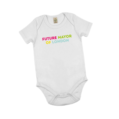Image of Future mayor of London babygrow