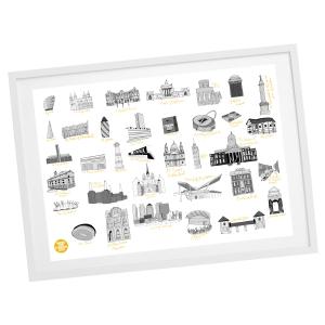 Sadiq 2020 Special Edition framed print
