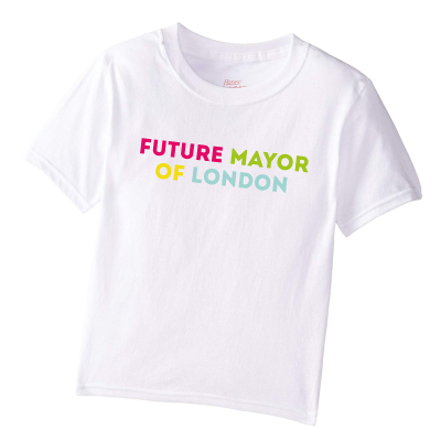 image of future mayor of london kids t-shirt