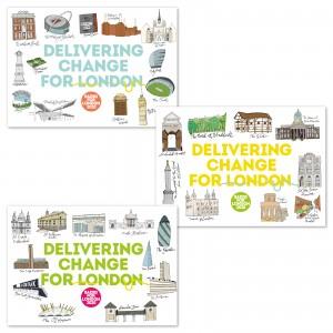 Sadiq 2020 Postcard pack