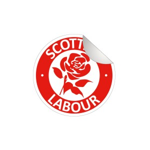 Scottish Labour Car Stickers