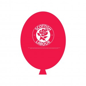 Scottish Labour Balloons