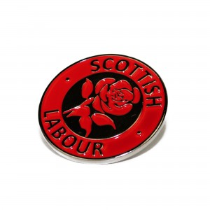 Scottish Labour Enamel Pin Badge