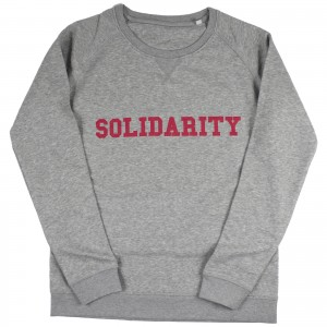 Women's Solidarity Sweater (red)