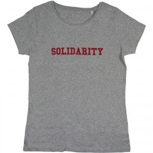 Women's Solidarity T-Shirt (red)