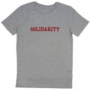 Men's SOLIDARITY T-Shirt (red)