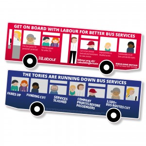 Get on board with Labour for better bus services