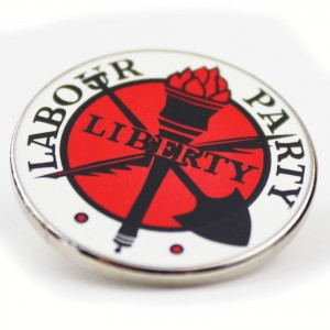 Liberty Pin Badge