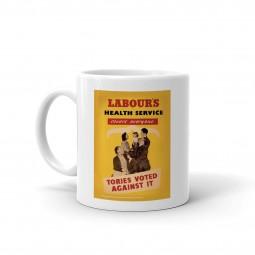 Image of vintage health service mug