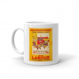 Image of vintage workers mug