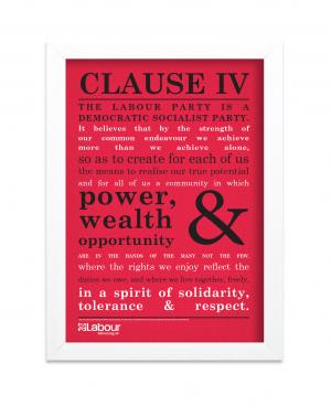 Clause IV Framed Print