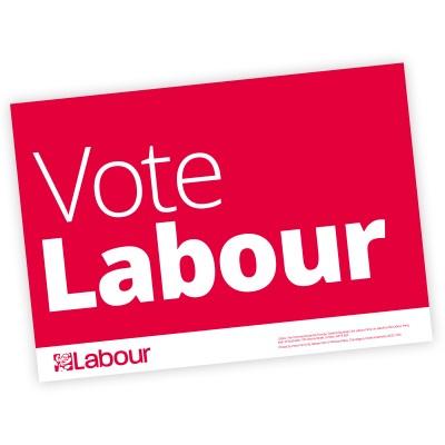 Labour Campaign A4 Posters