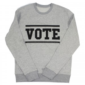 Women's Vote Sweater (Black)