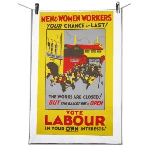 Workers Tea Towel