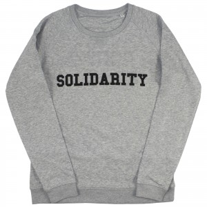 Women's Solidarity Sweater (black)