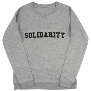 Women's Solidarity Sweater (black)